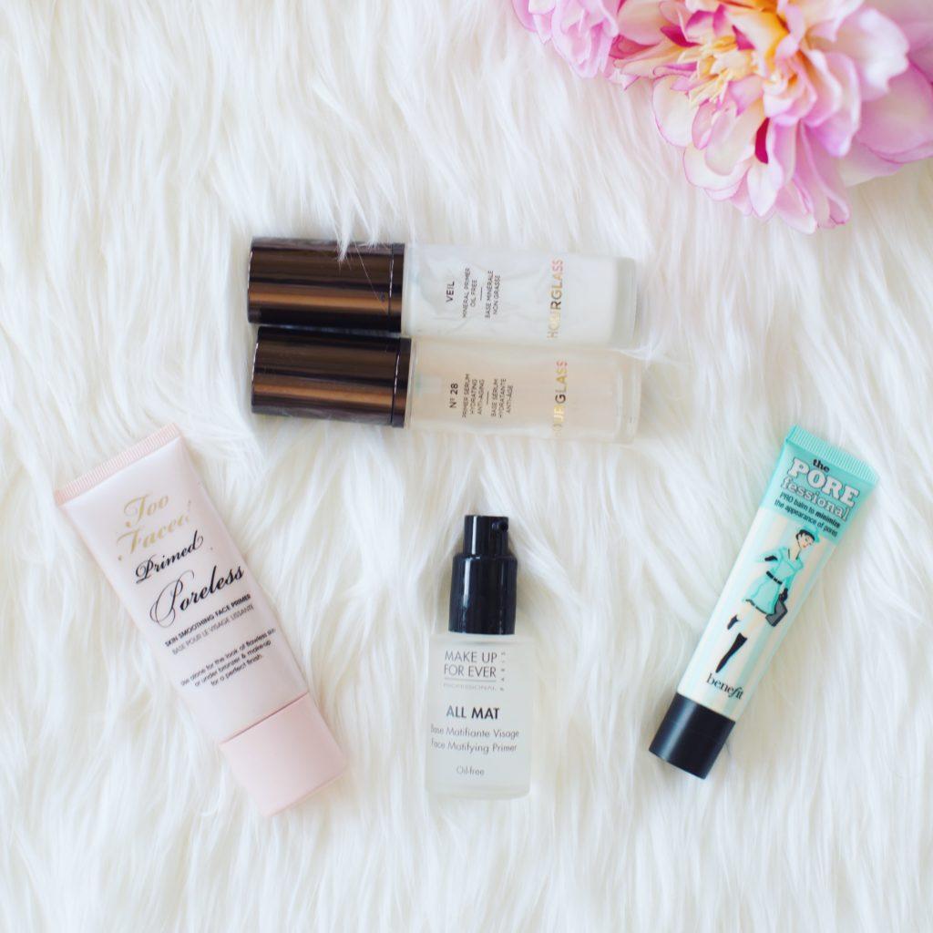 the best makeup primers 2017, hourglass serum primer, hourglass mineral primer, too faced primer, benefit poreless primer, makeup forever primer