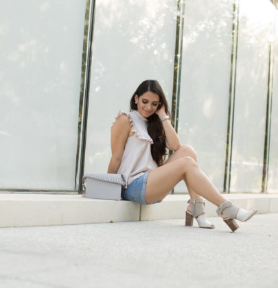 My Top 7 Peep-toe Booties to wear with Shorts or Skirts