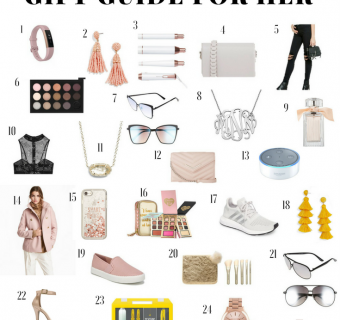 Holiday Gift Guide For Her – For All Budgets