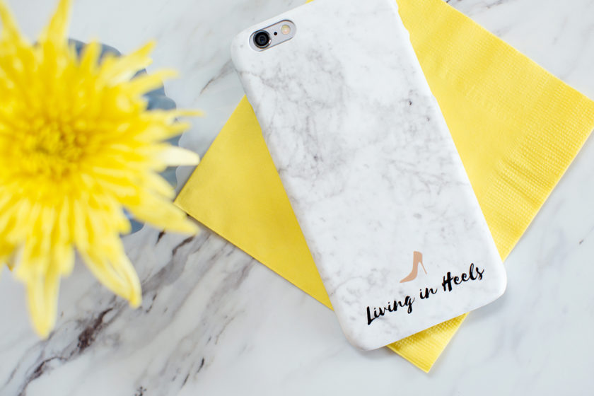 iphone case marble white