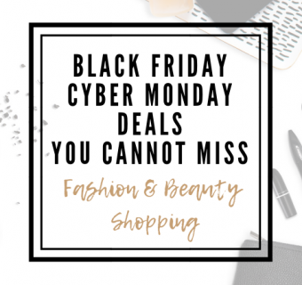 Black Friday and Cyber Monday Deals You Cannot Miss