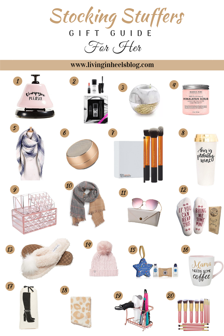 stocking stuffers, gifts under 20, gifts for her under 20, millennial gifts under 20, christmas gift guide under 20
