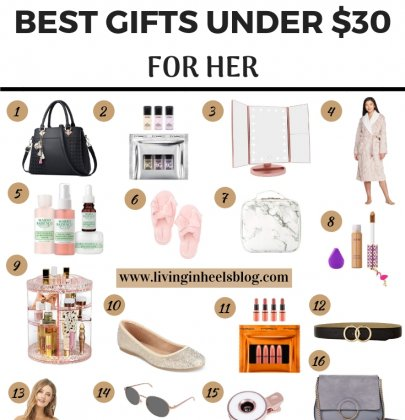 Best Christmas Gifts for Her Under $30