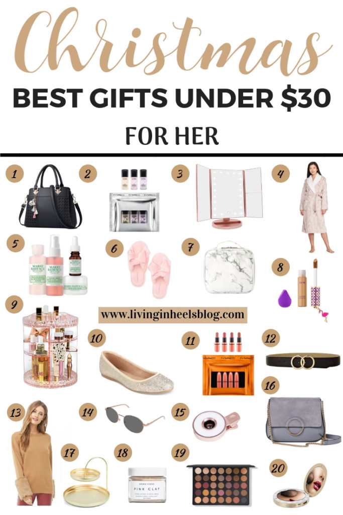 Christmas gifts for her inexpensive, Christmas gifts for her under $30, Christmas gifts for friends under $30 , Christmas gifts for wife under $30, Christmas gifts for girlfriend under $30, Christmas gifts for daughter under $30, Christmas gifts for mom, Christmas gifts on a budget, fashion Christmas gifts on a budget, affordable beauty Christmas gifts, Christmas gift guide on a budget, affordable Christmas gift guide for her