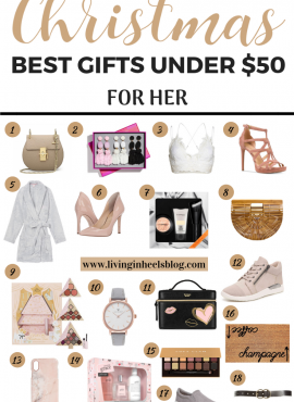 Best Christmas Gifts For Her Under $50