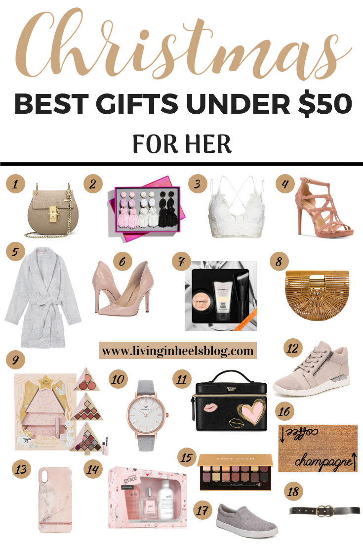 Christmas gifts for her, Christmas gifts for her under $50, Christmas gifts that she will love, Christmas gifts for wife, Christmas gifts for girlfriend, Christmas gifts for daughter, Christmas gifts for mom, Christmas gifts on a budget, fashion Christmas gifts, beauty Christmas gifts, Christmas gift guide, Christmas gift guide for her