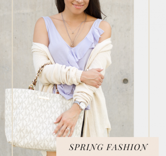 3 Fashionable Outfits for Spring and a Surprise Giveaway!