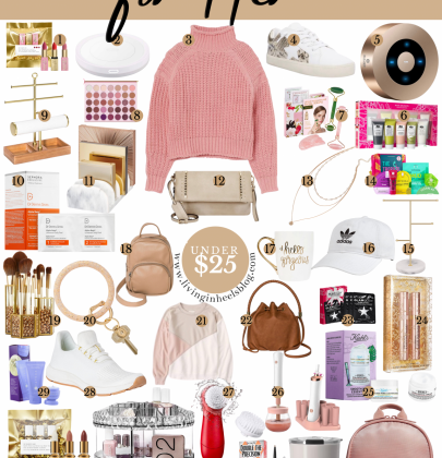 Holiday Gift Ideas for Her under $25