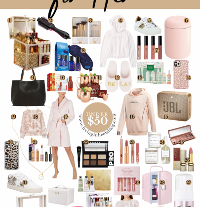 Holiday Gift Ideas For Her Under $50