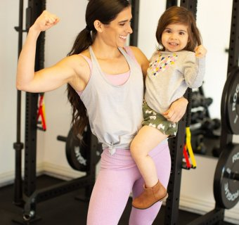 5 Tips to Get Fit at Home for Busy Moms