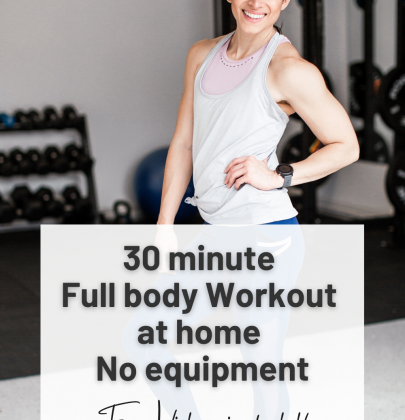 30 minute Full Body Workout at Home no Equipment