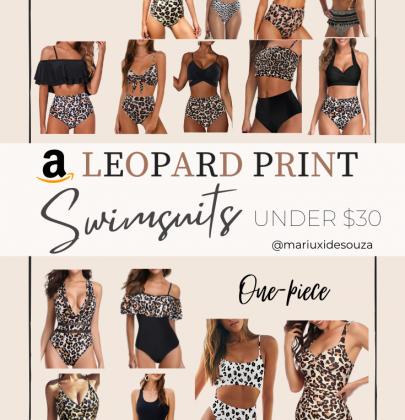 15 Amazon Cute & Trendy Leopard Print Swimsuits under $30