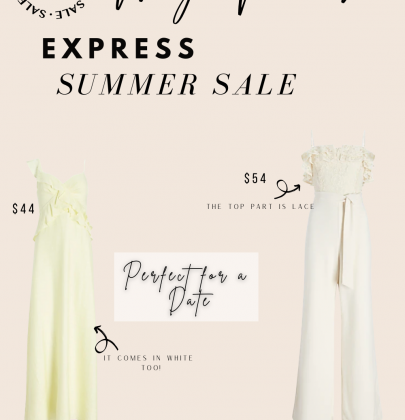 My Favorite Items from Express Summer Sale 2021