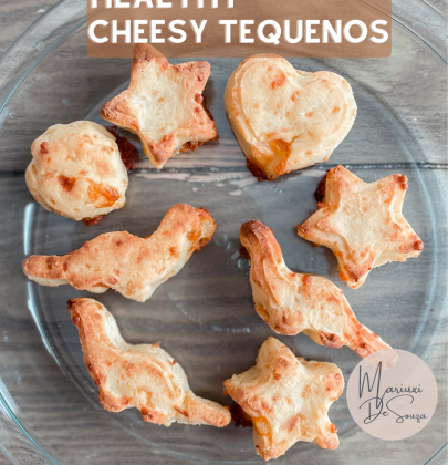 How to Make Healthy Cheesy Bread: Oven Baked Cheesy Tequenos